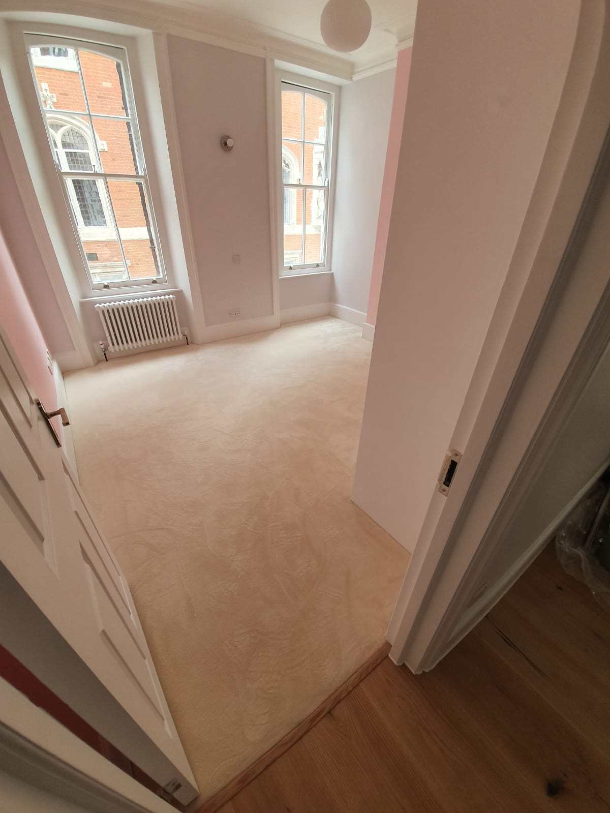 Brockway Carpets Padstow Pebble Mohair Carpet in Chiswick 2