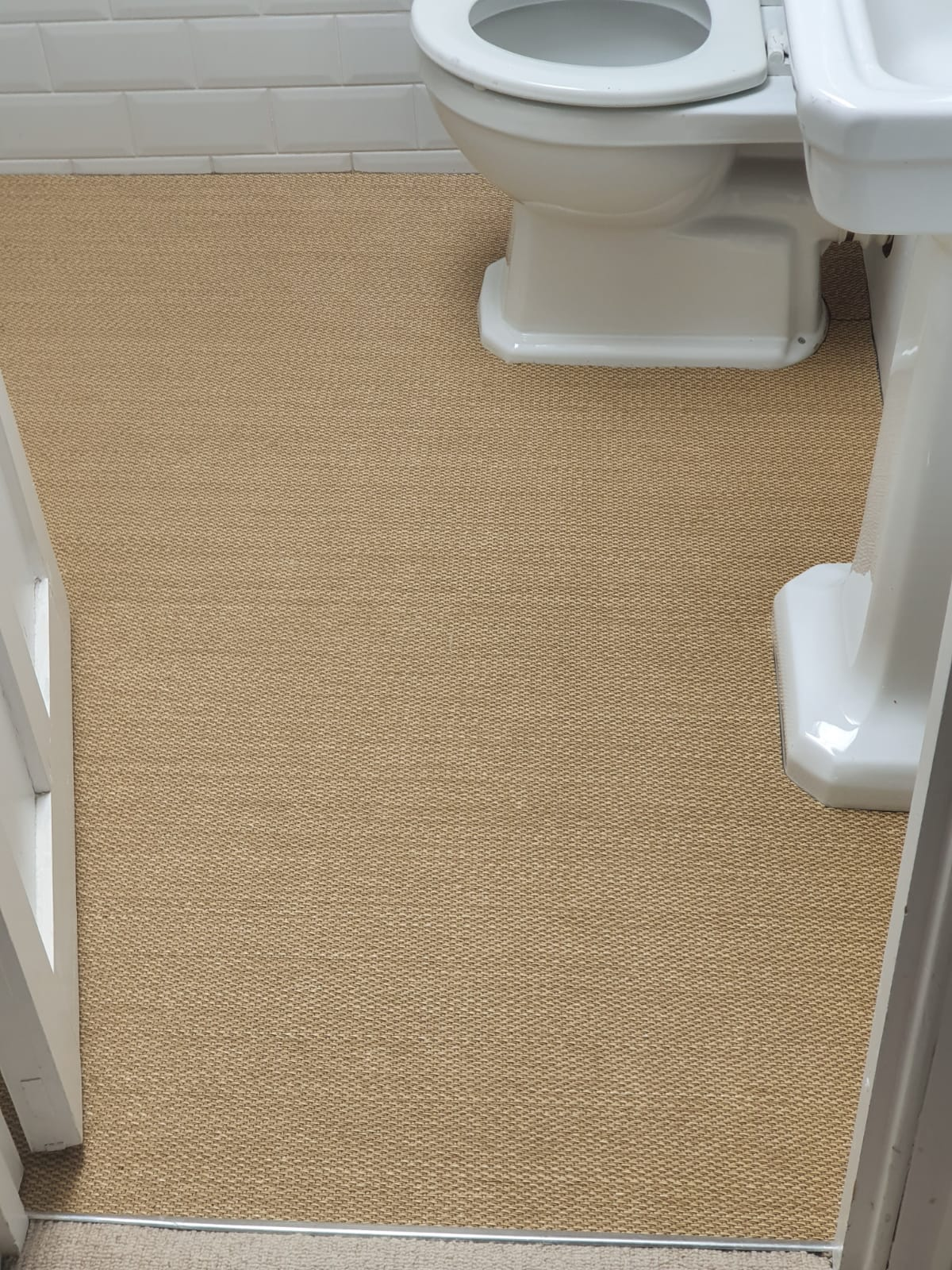 Clarendon Carpets Harrow Beige Carpet in Chelsea 2