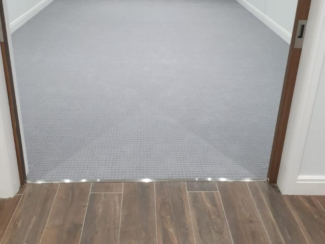 Grey Carpet to Multiple Rooms in Flooring Docklands