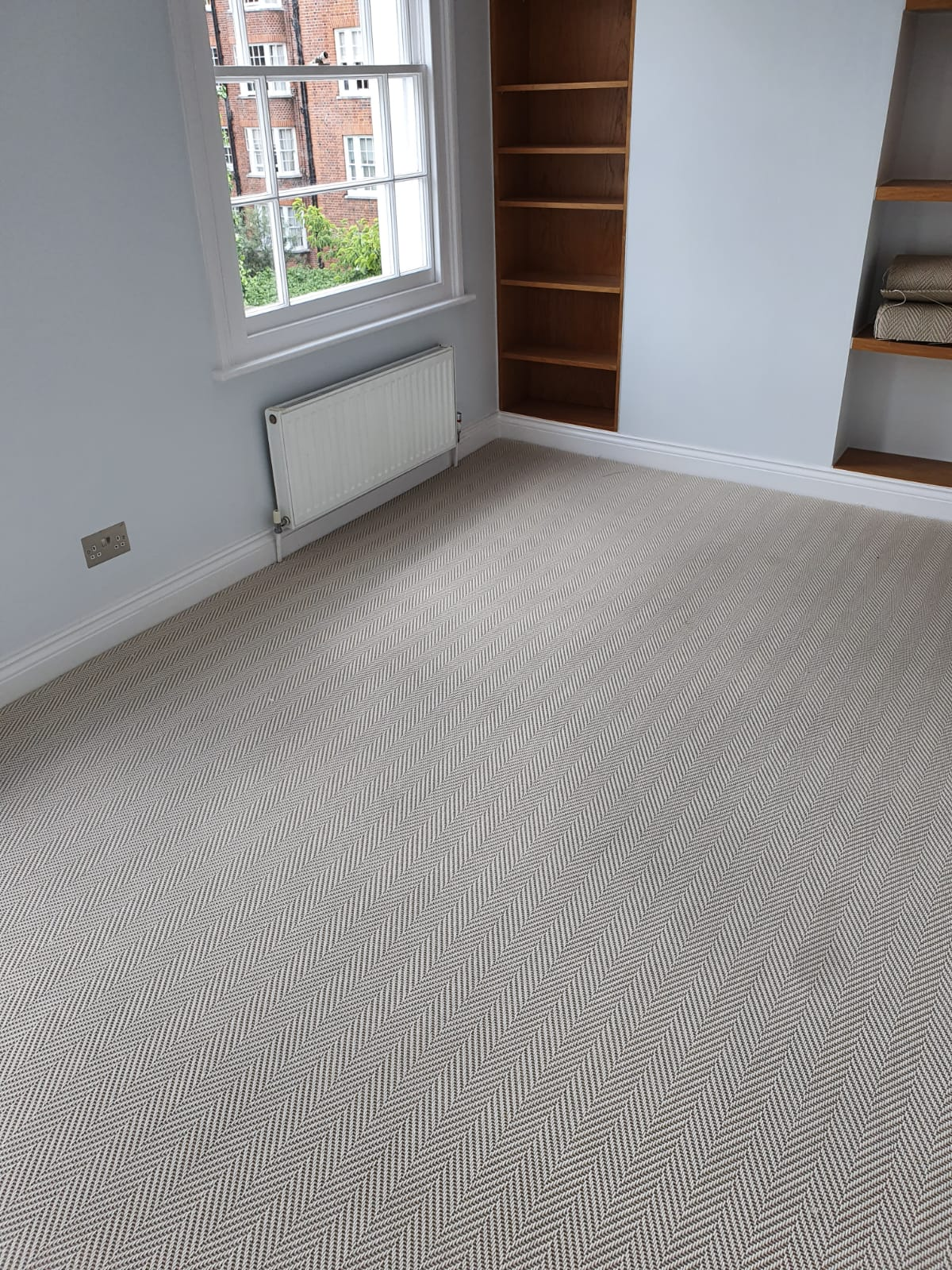 Unnatural Flooring New England Sugar Hill Carpet in Ealing 3