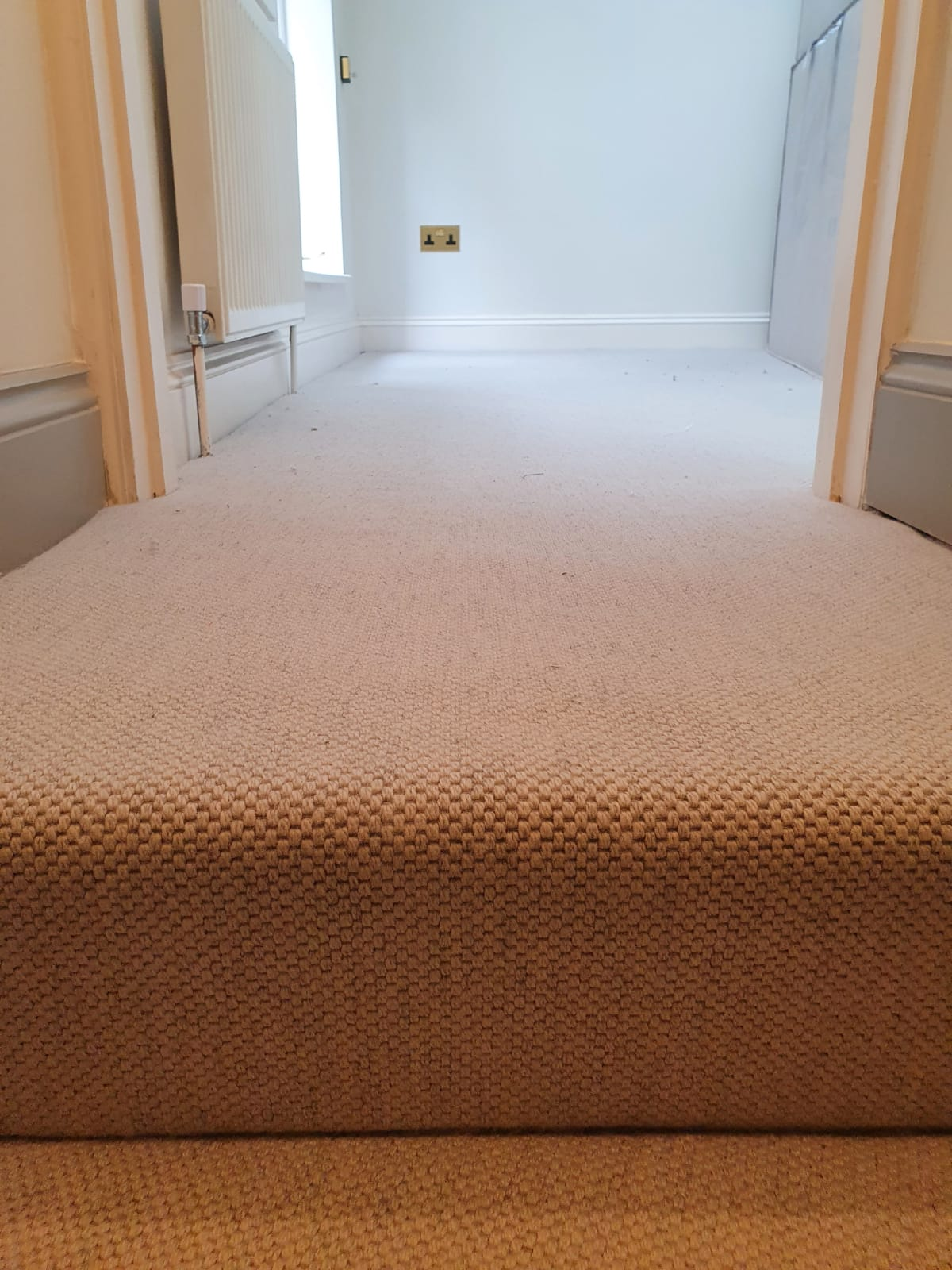 White Carpet to Stairs in Richmond 1