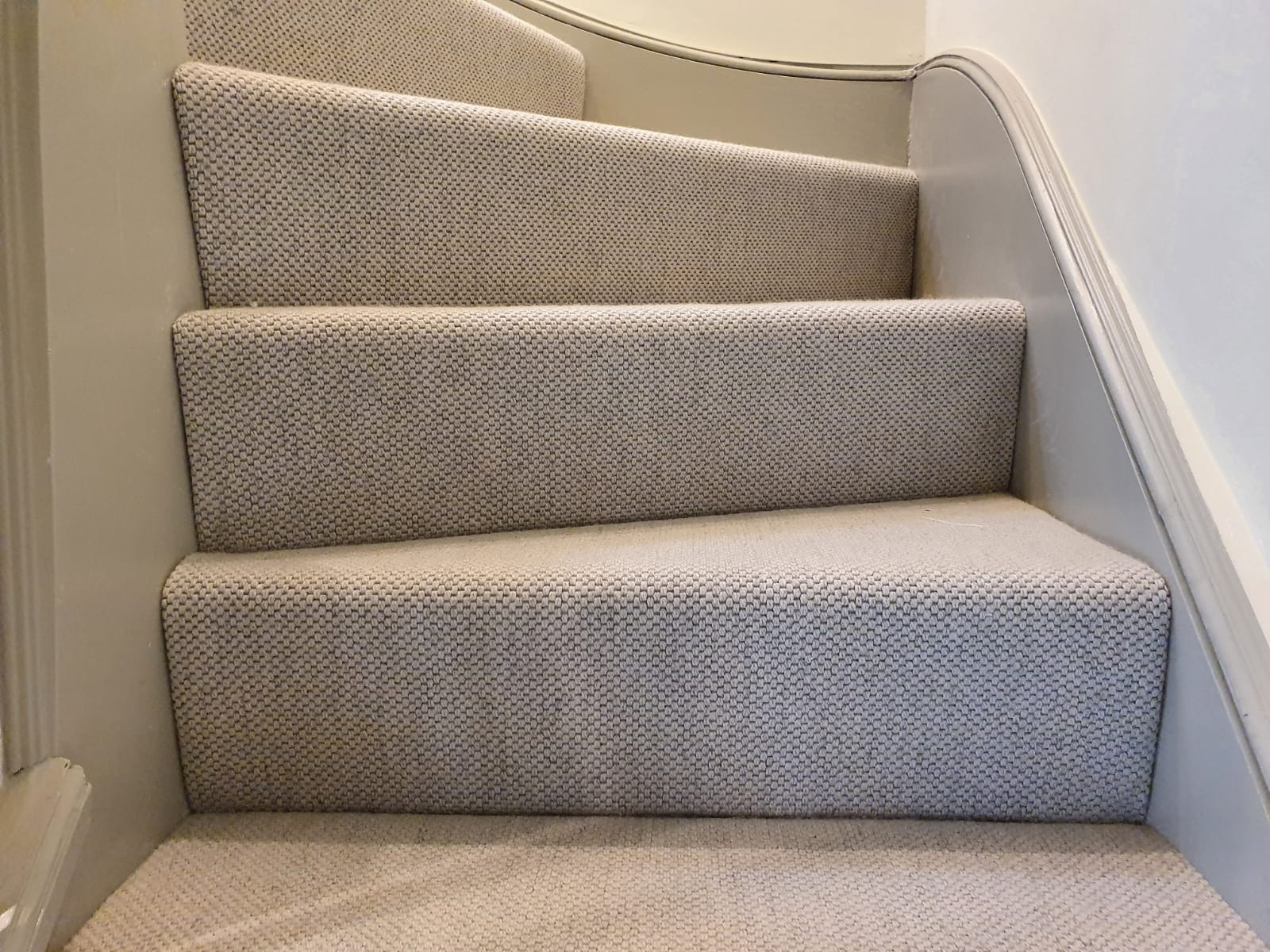 White Carpet to Stairs in Richmond 2