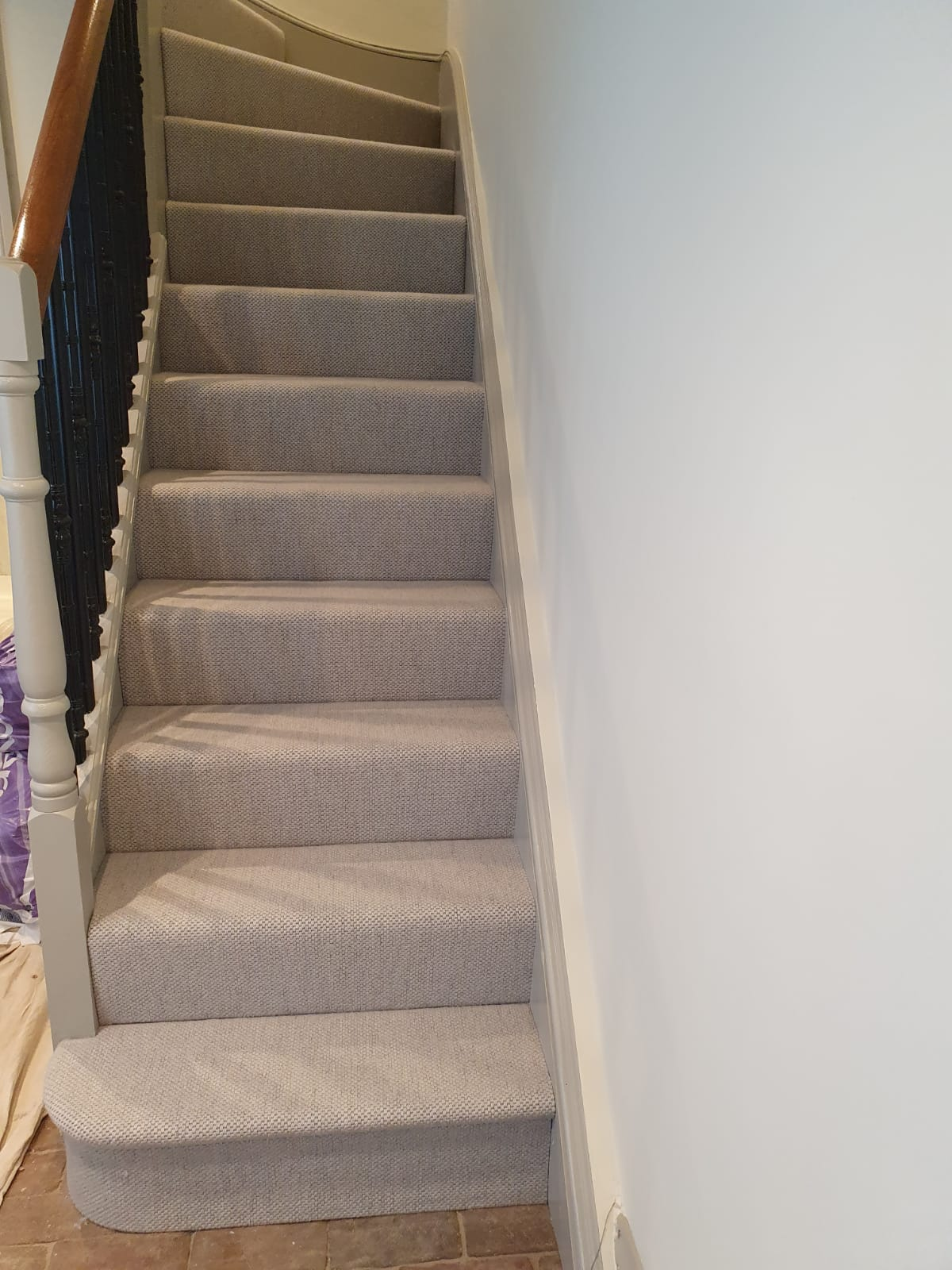 White Carpet to Stairs in Richmond 3