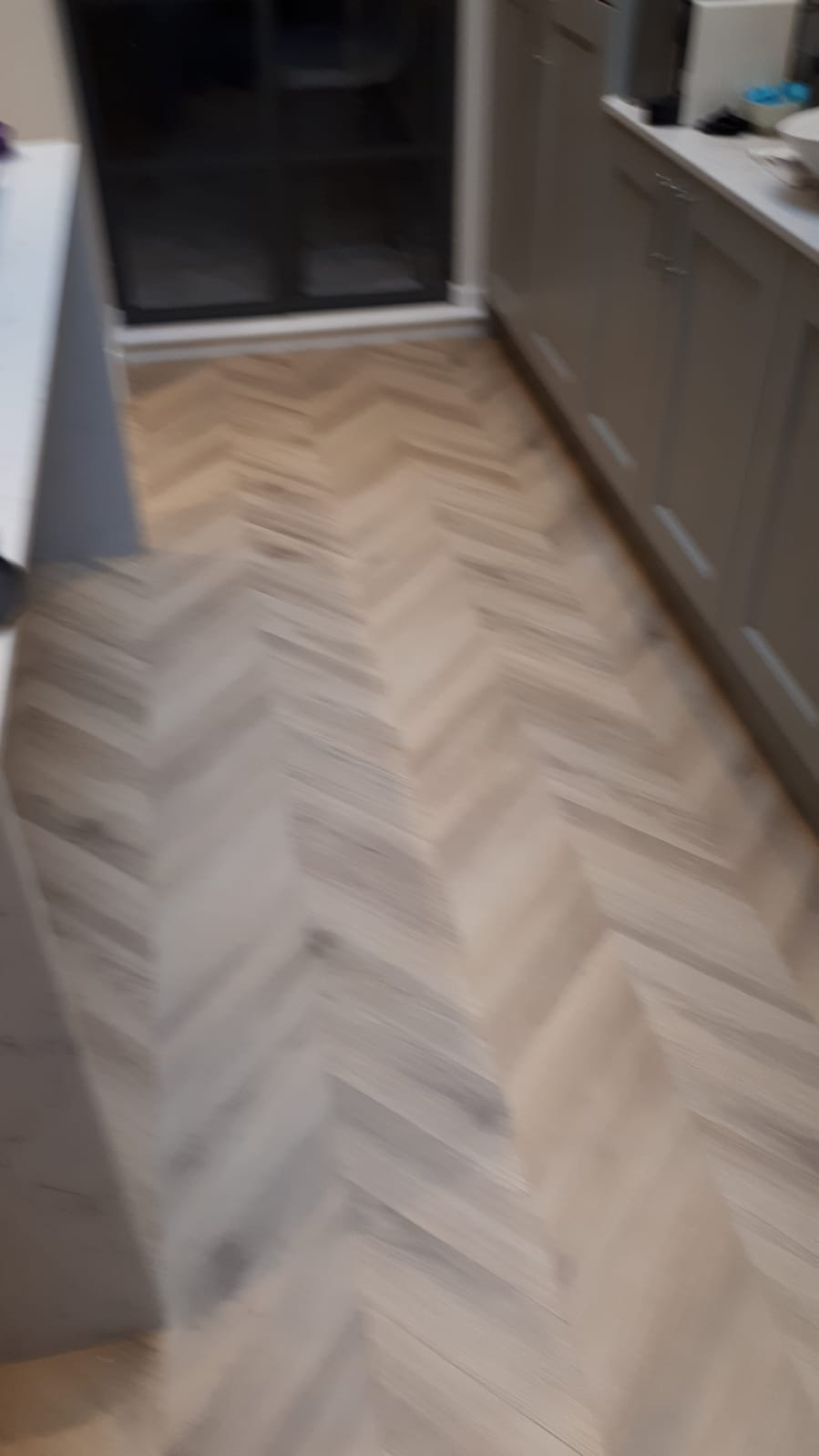 Amtico Signature Herringbone Pleat Parquet in Earls Court 1