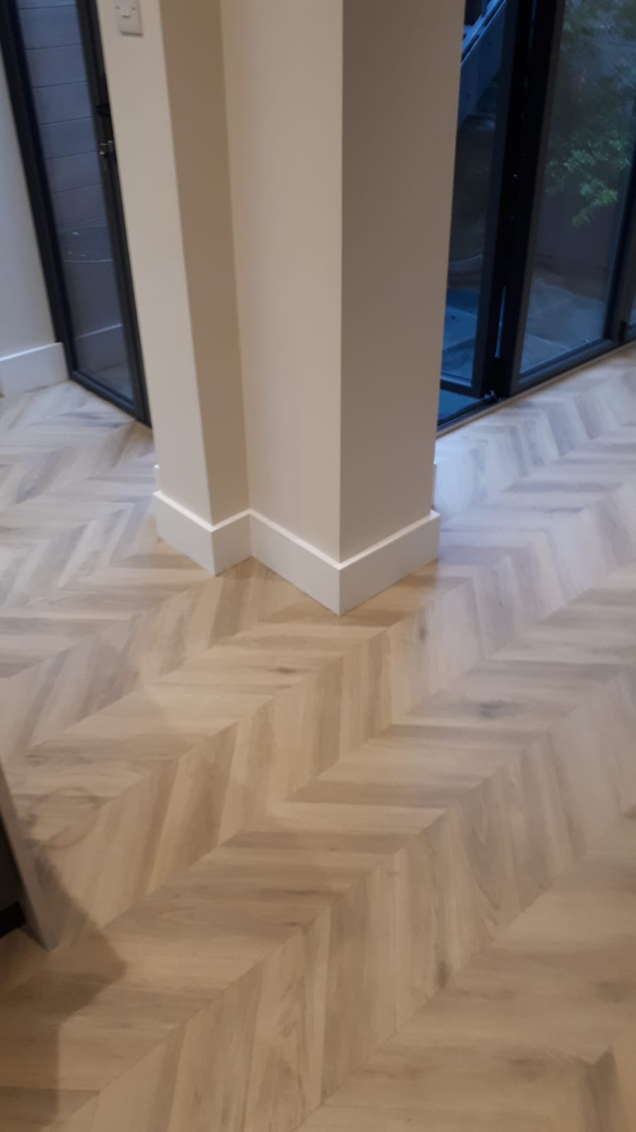 Amtico Signature Herringbone Pleat Parquet in Earls Court 2