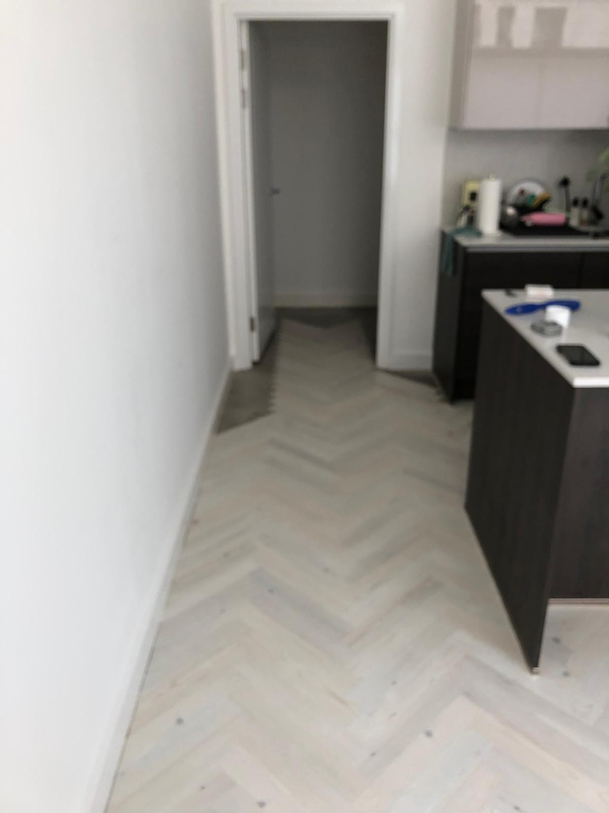 Karndean Knight Tile Washed Scand Prime Herringbone in Chelsea 3