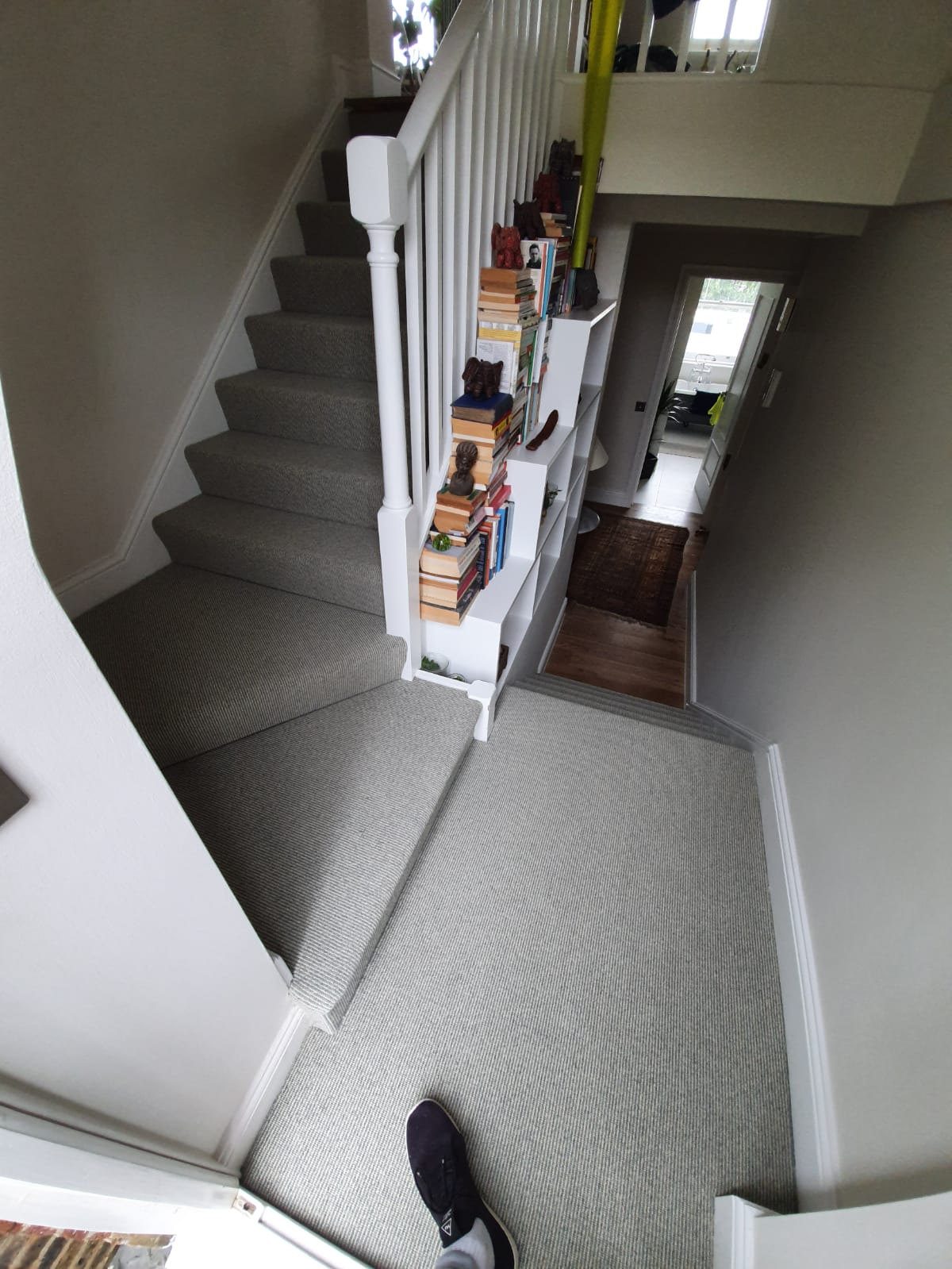 Westex Carpets Natural Loop Boucle Shingle Carpet in Belgravia 2