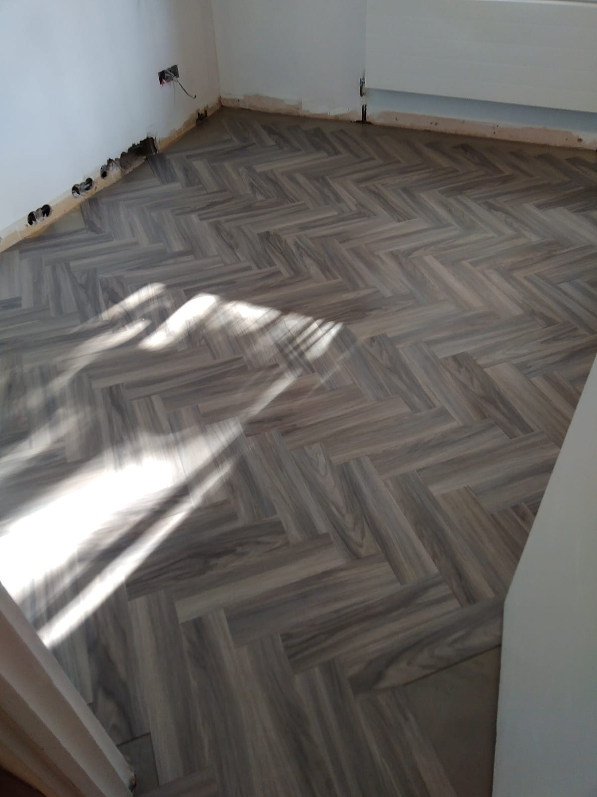 Amtico Signature Pearl Washed Wood in Acton 2