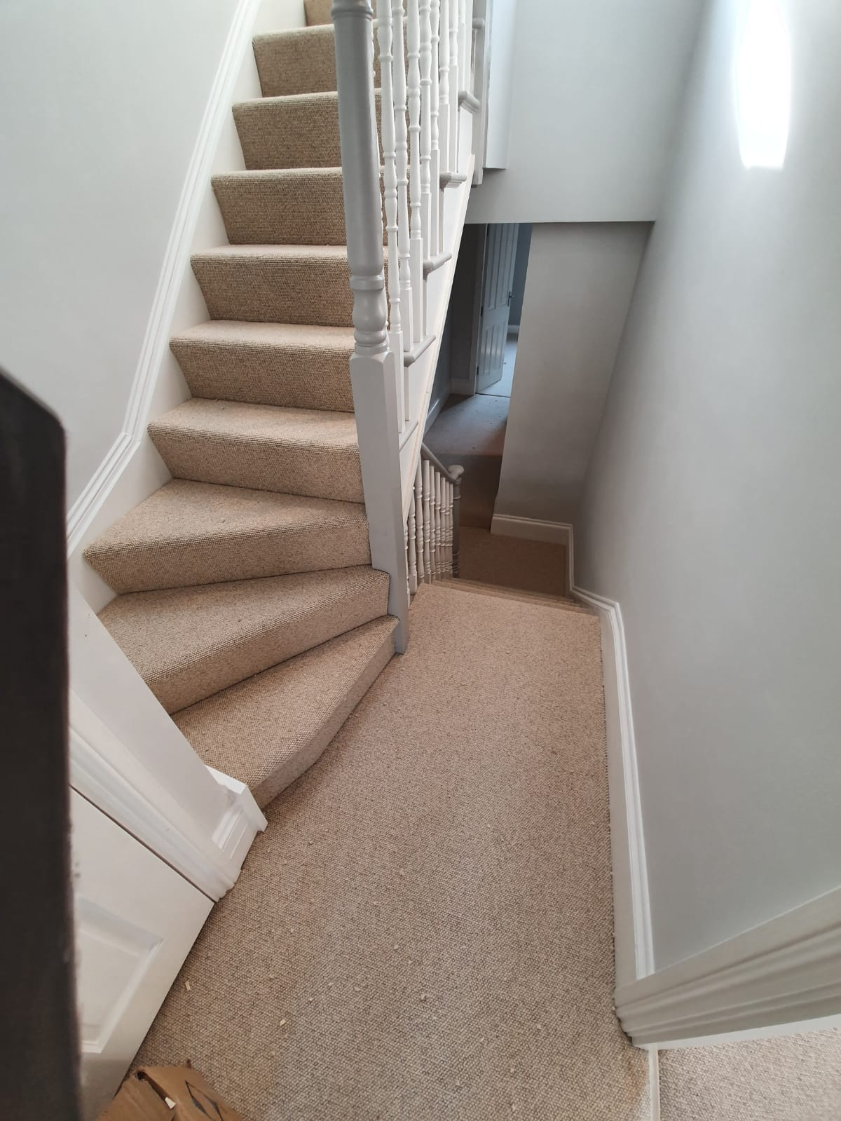 Padstow Angora Pebble Carpet in Notting Hill 2