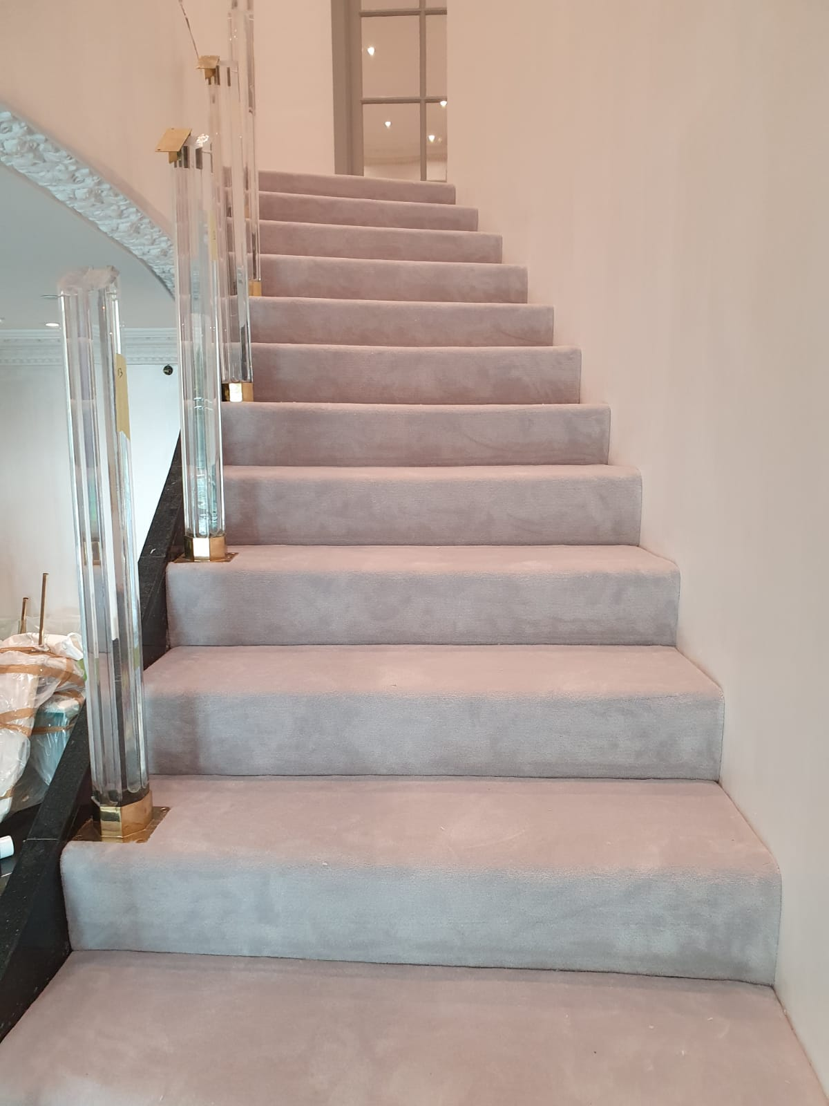 Westex Silken Velvet Vogue Moonstone Carpet in Fulham 1