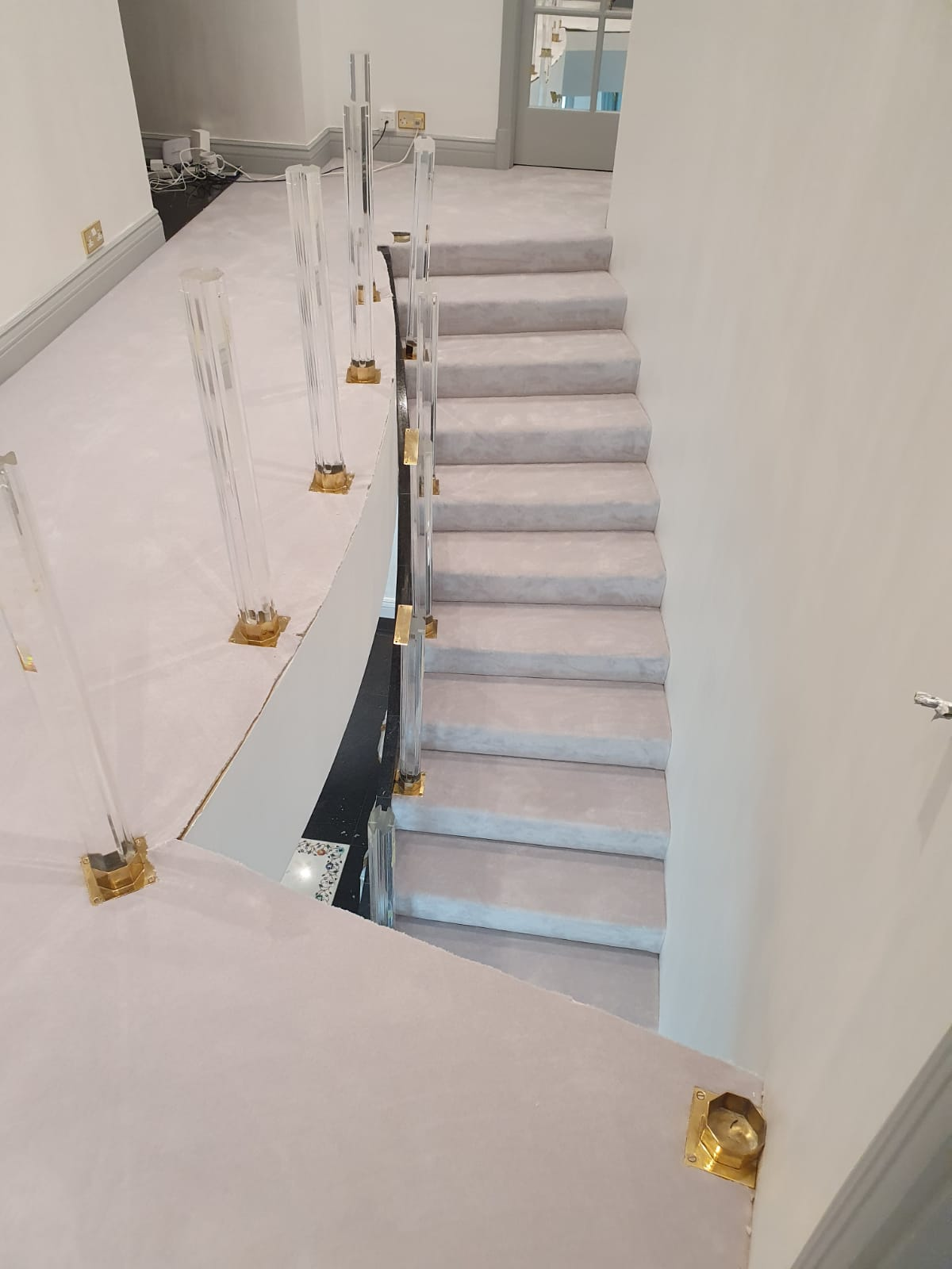 Westex Silken Velvet Vogue Moonstone Carpet in Fulham 2