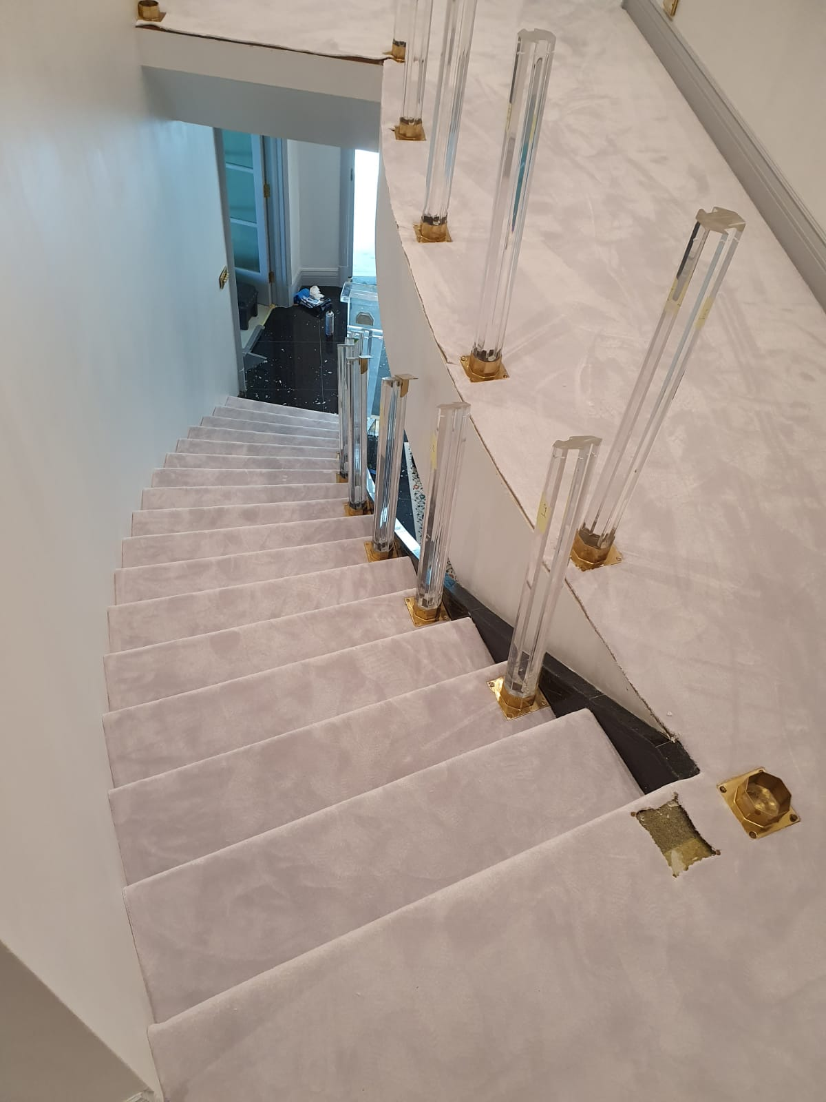 Westex Silken Velvet Vogue Moonstone Carpet in Fulham 3