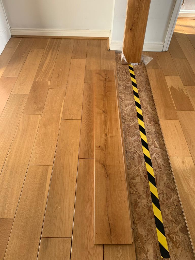 Trade Flooring Prime Wood Block in Lambeth 1