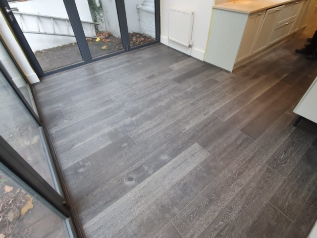 Xylo R113 Silver Wood Flooring in Borough