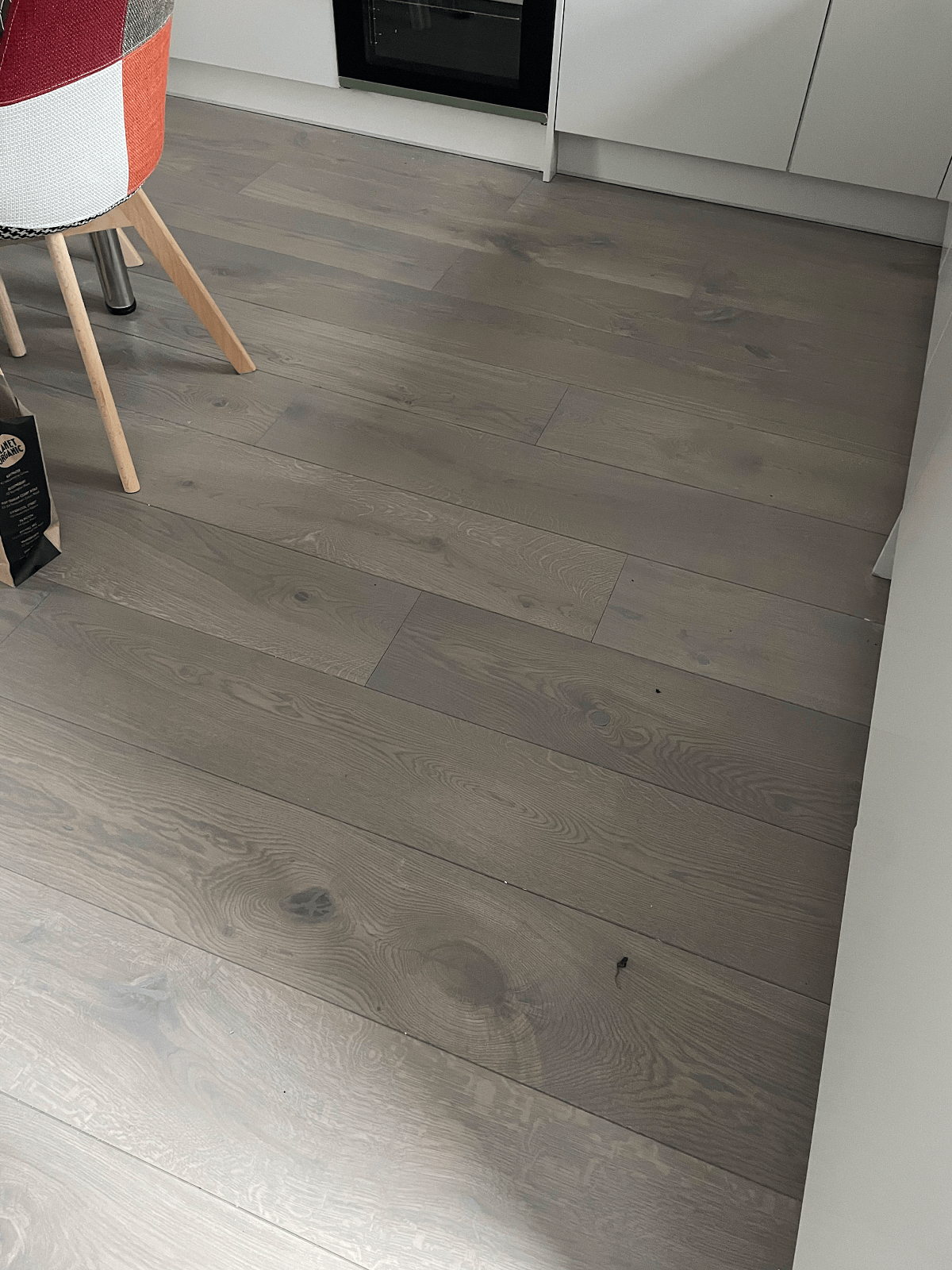 Staki Grey Stone Oil Wood Flooring In Chelsea 1