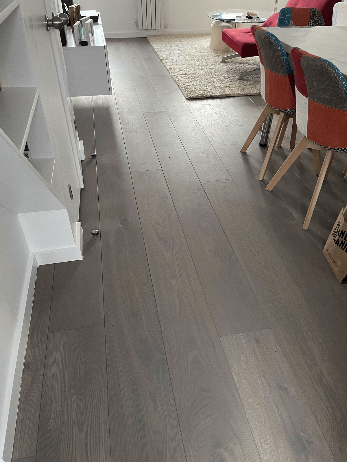 Staki Grey Stone Oil Wood Flooring In Chelsea 2