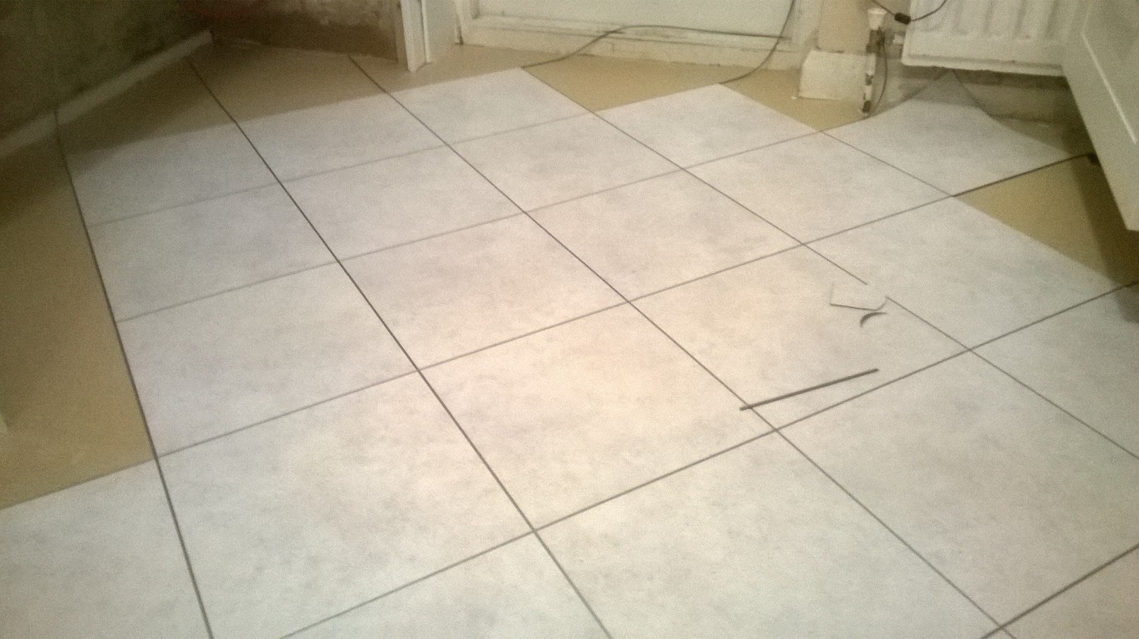 Amtico Spacia Ceramic Frost with Silver Stripping 3