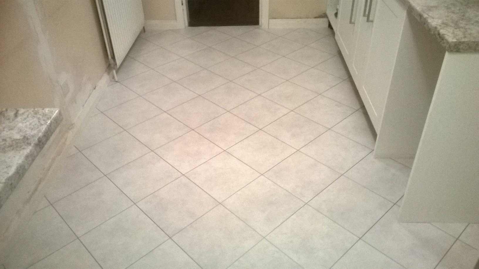 Amtico Spacia Ceramic Frost with Silver Stripping 4