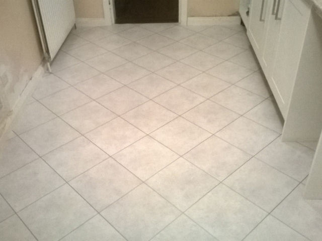 Amtico Spacia Ceramic Frost with Silver Stripping