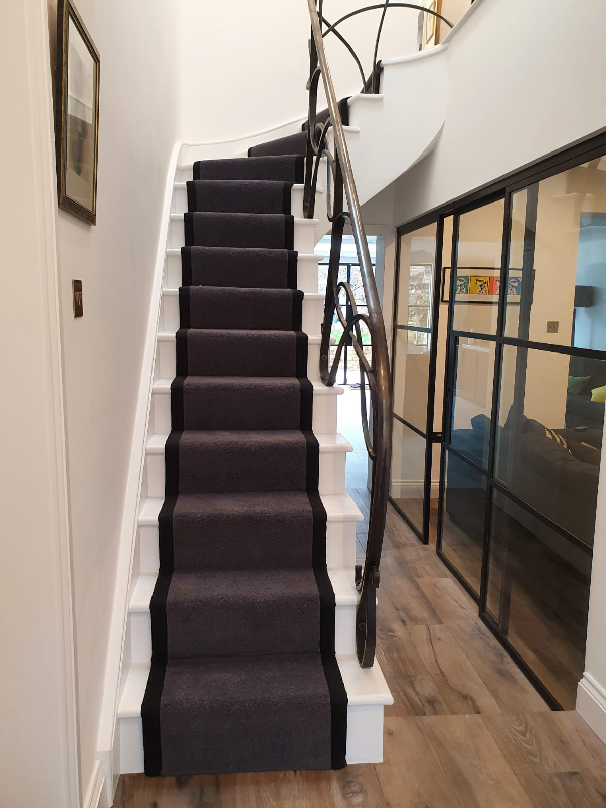 Brown Carpet with Black Binding In Notting Hill 2