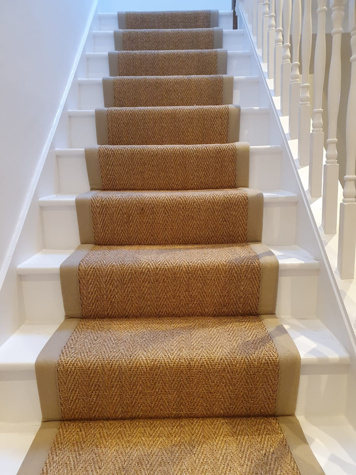 Alternative Flooring Sisal Holbury Herringbone Carpet 1