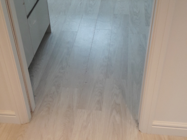 Amtico Signature White Washed Wood in Belgravia