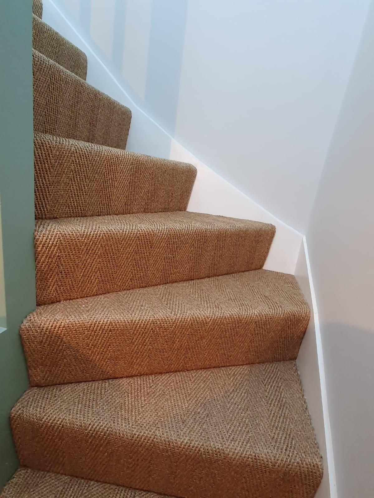 Brown Sisal Carpet In Southwark 1