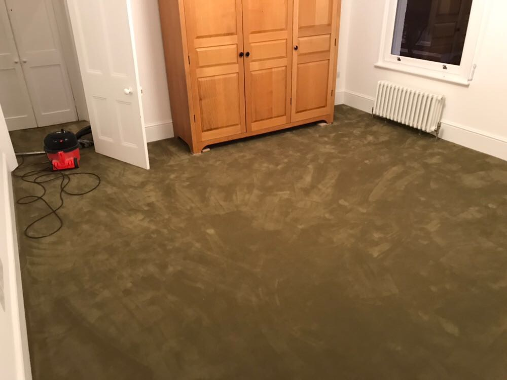 Rols Wool Carpets Castor Plus 322 Olive Green in Borough 1