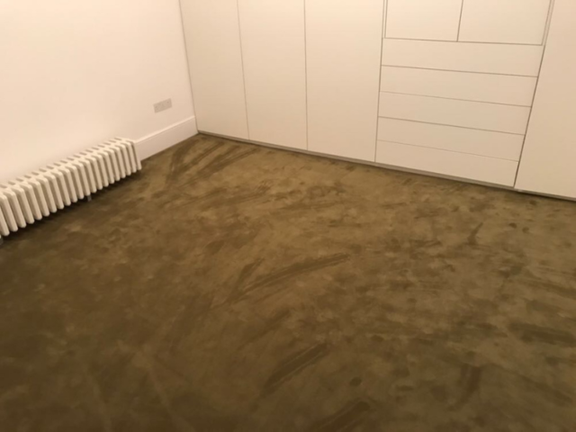 Rols Wool Carpets Castor Plus 322 Olive Green in Borough