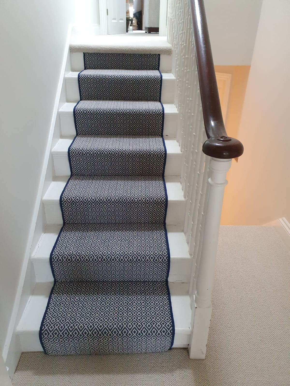 Rols Wool Carpets Gala Lattice Ocean Carpet In Chelsea 1