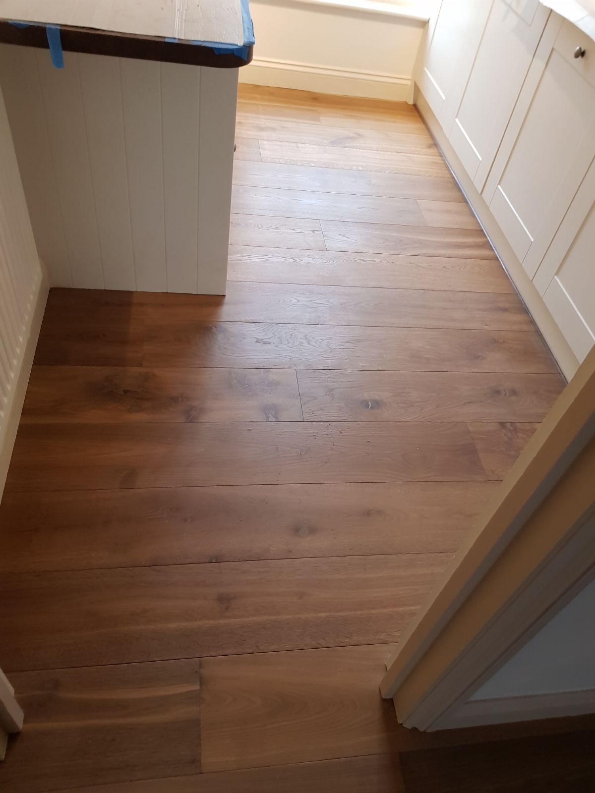 Staki Oak Tobacco Wood Flooring in Clapham 1