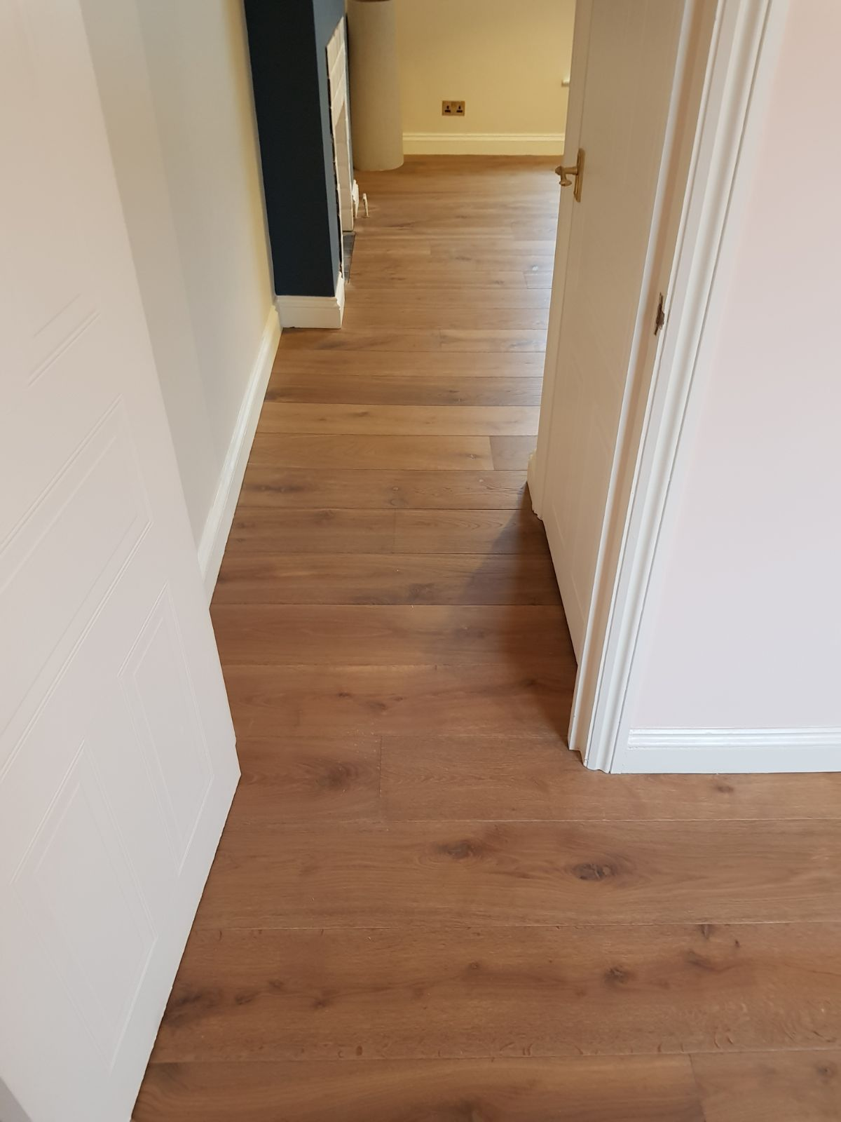 Staki Oak Tobacco Wood Flooring in Clapham 3
