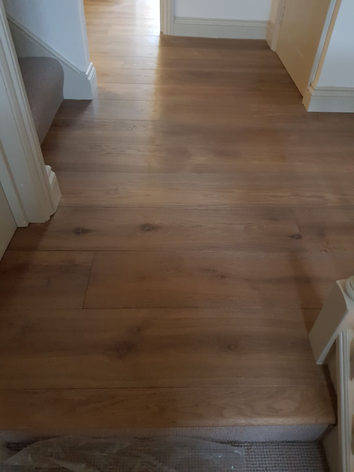 Staki Oak Tobacco Wood Flooring in Clapham 5
