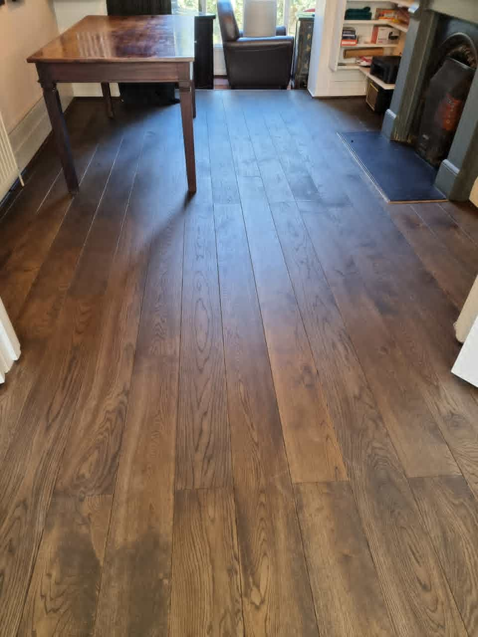 Staki Oak Wood Flooring Ebony 3