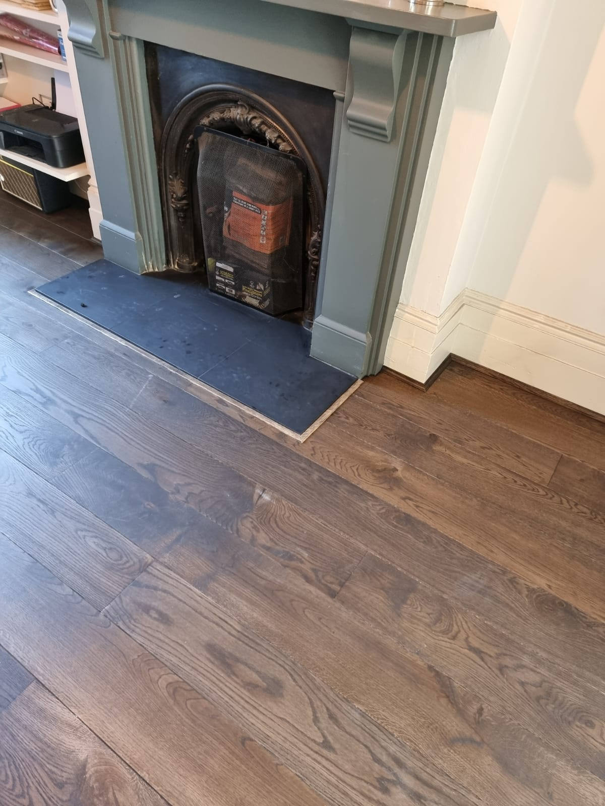 Staki Oak Wood Flooring Ebony 4