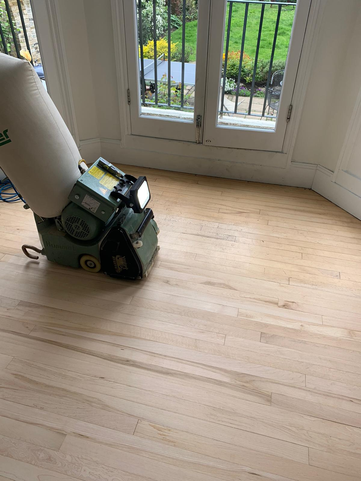 Sanding and Sealing Works 5