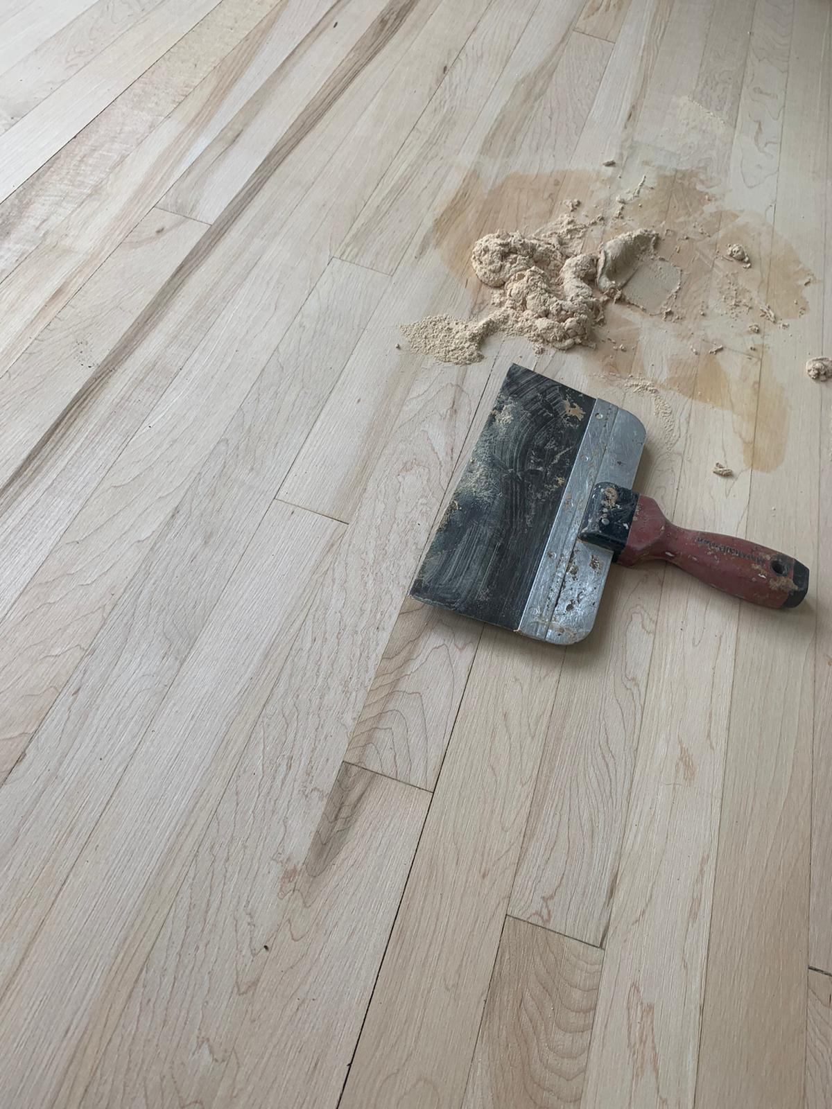 Sanding and Sealing Works 1