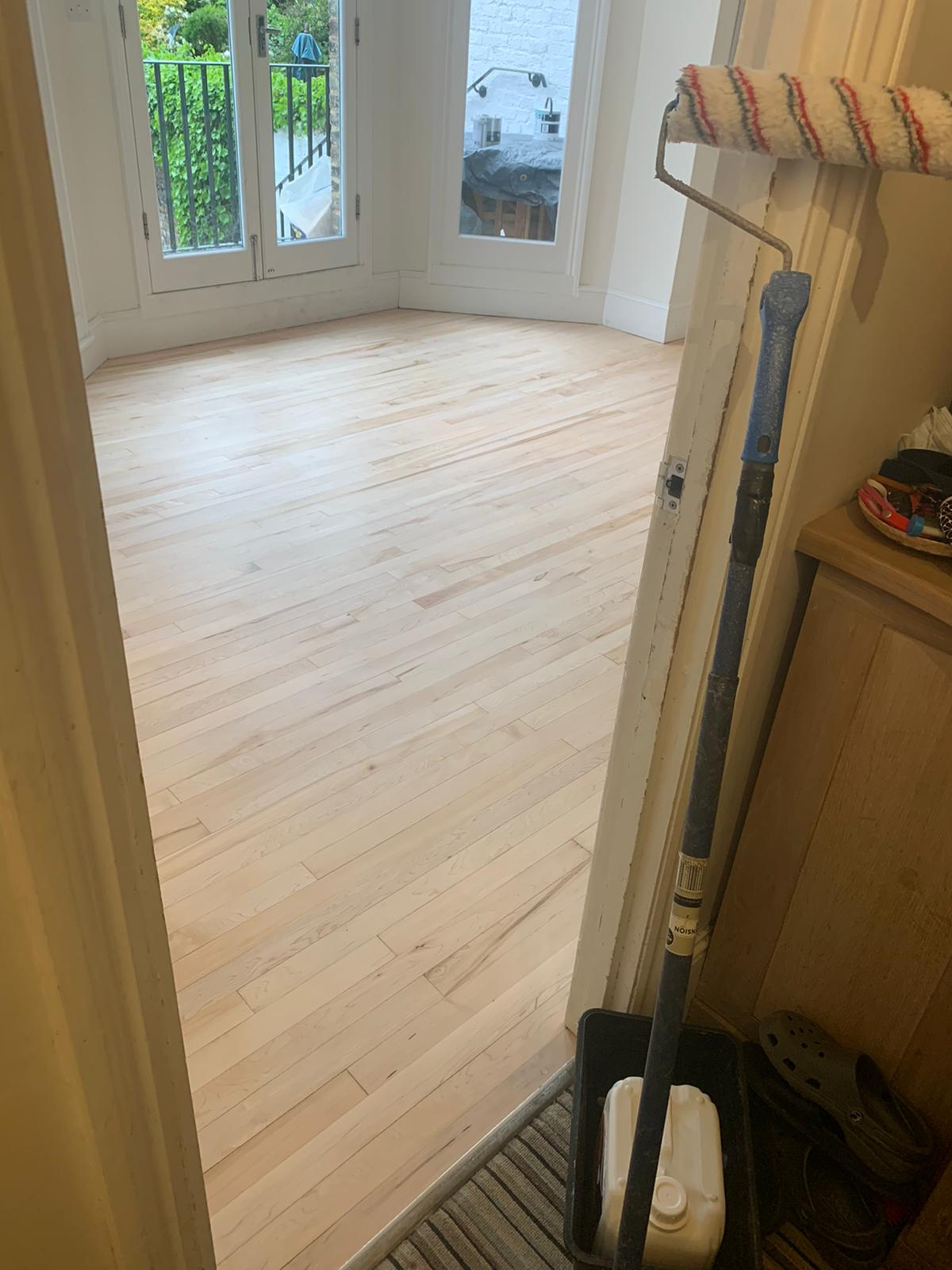 Sanding and Sealing Works 6
