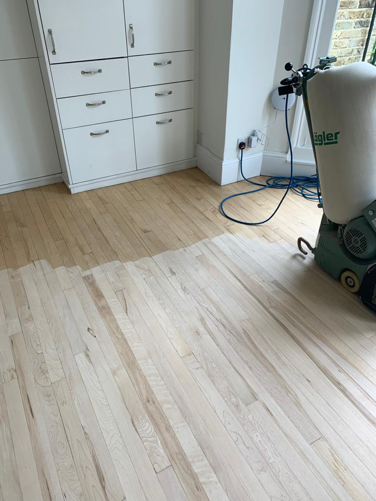 Sand & Seal Wooden Flooring In Pimlico 2