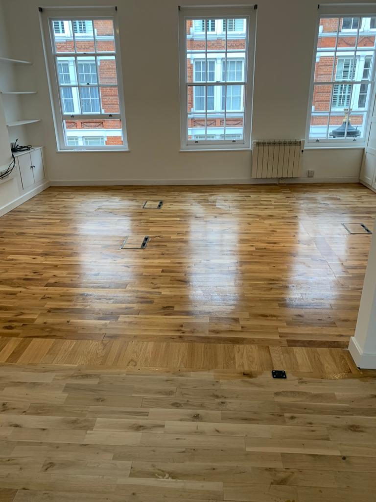 Sand & Seal Wooden Flooring In Pimlico 4