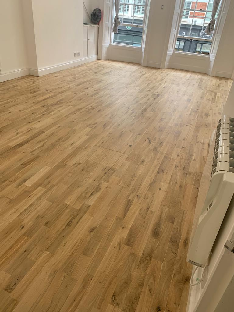 Sand & Seal Wooden Flooring In Pimlico 5