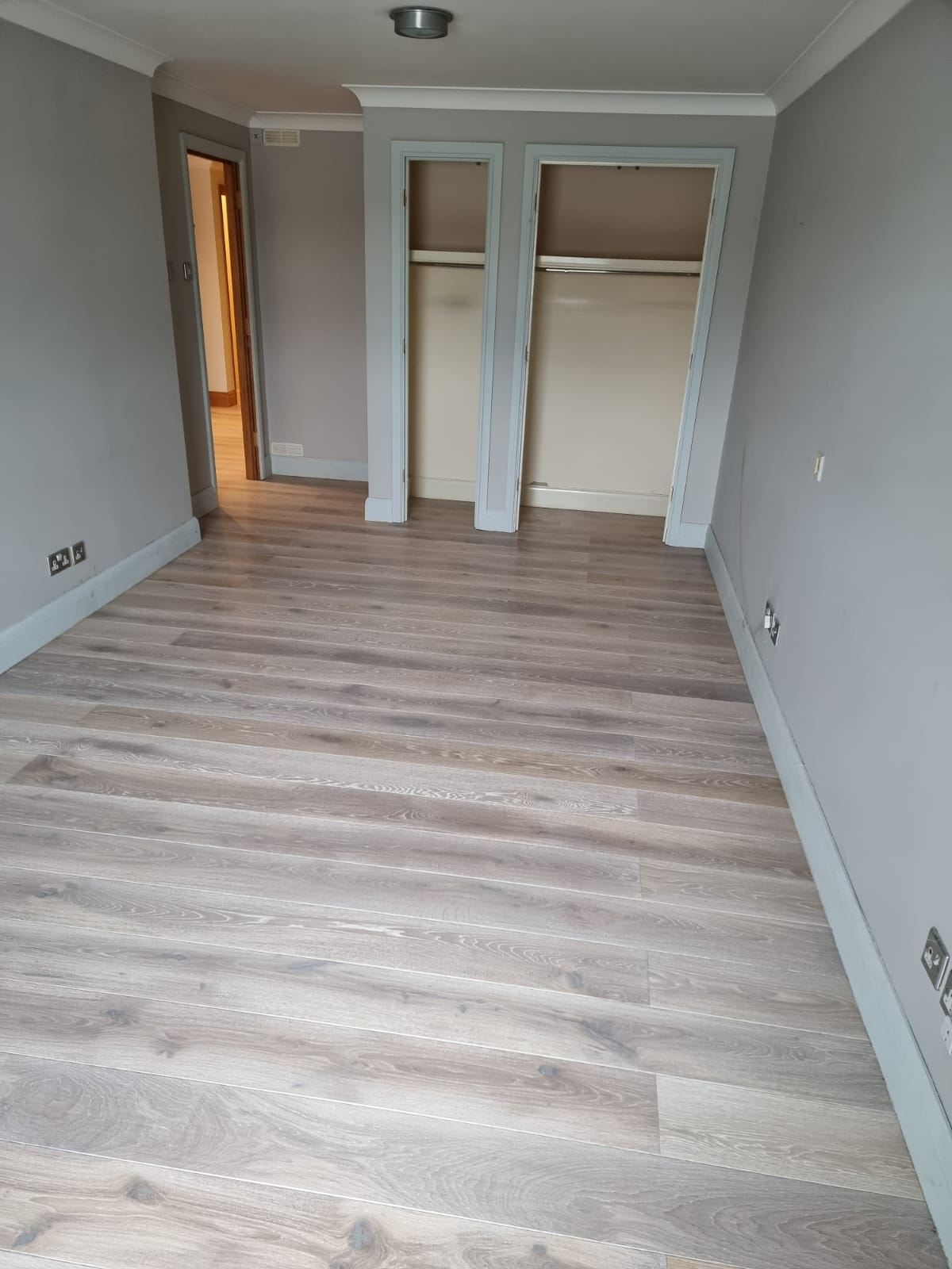 Staki White Brushed & Oil Wood Flooring In Richmond 1
