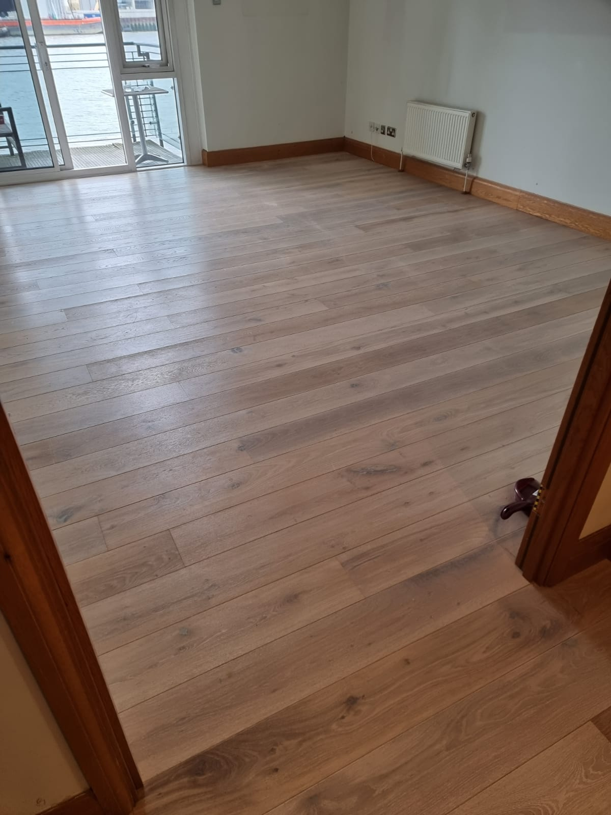 Staki White Brushed & Oil Wood Flooring In Richmond 3