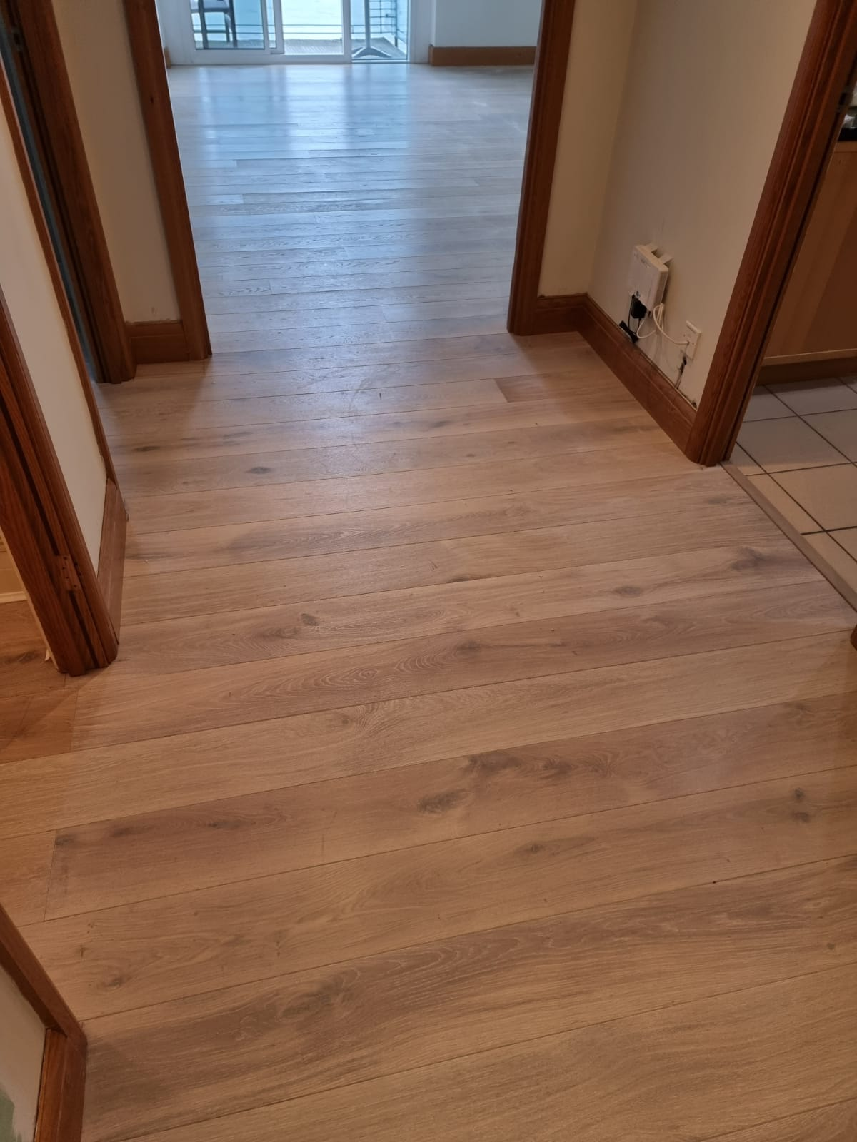 Staki White Brushed & Oil Wood Flooring In Richmond 5