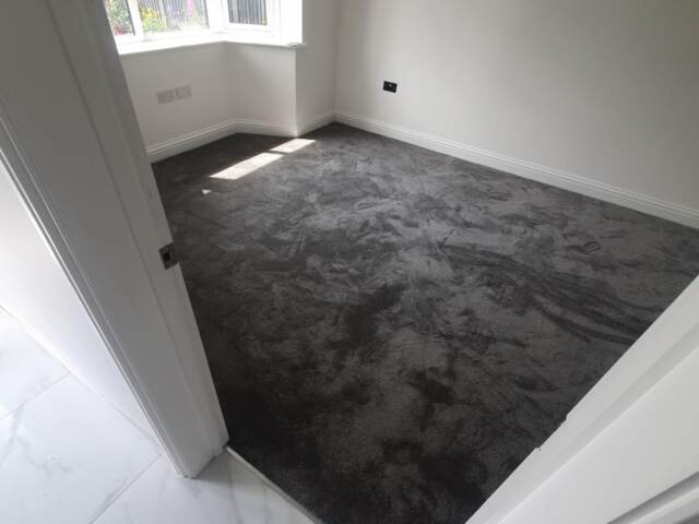 Florco Magnificus Pewter Carpet In Kings Cross