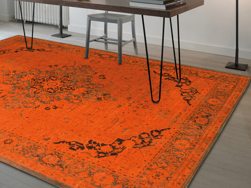 Louis De Poortere - Burnt Orange Decor