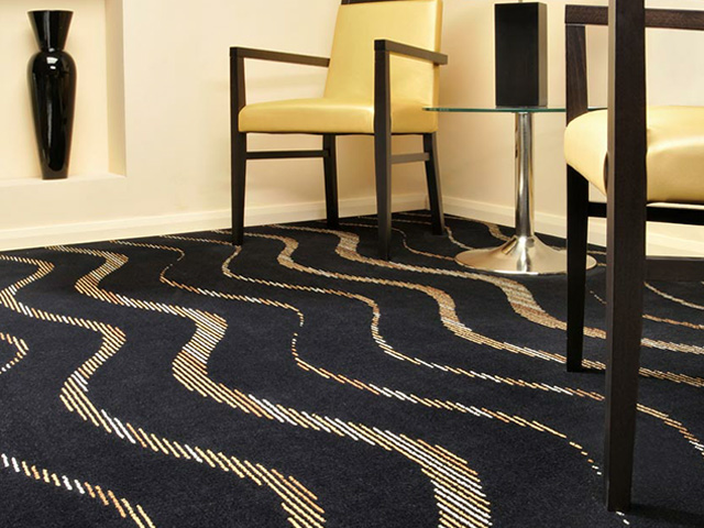 Adam Carpets – Avant Ebony Waves