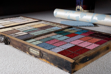 Adam Carpets Fine Worcester colour box