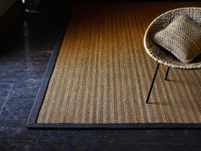Alternative Flooring Gras Herringbone Rug