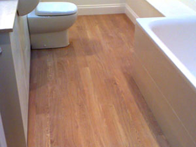 Amtico Floor In Bathroom